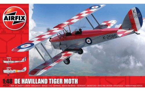 Airfix 1/48 de Havilland Tiger Moth