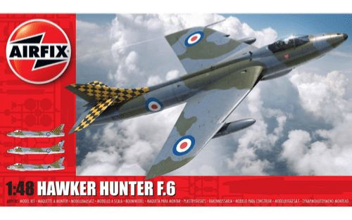 Airfix 1/48 Hawker Hunter F.6