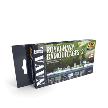 AK Interactive Royal Navy Camouflages 2 Paint Set