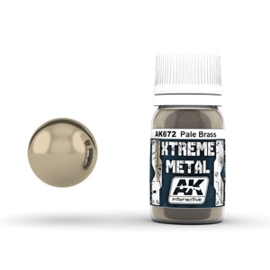 AK Interactive Xtreme Metal Pale Brass