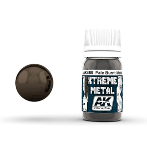 AK Interactive Xtreme Metal Pale Burnt Metal