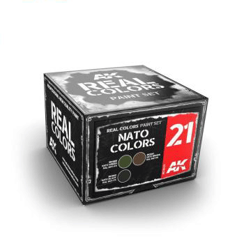 AK Real Colours - NATO Colours Paint Set