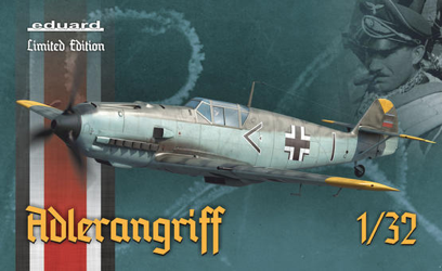 Eduard 1/32 Adlerangriff Bf 109 in Battle of Britain Limited Edition