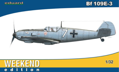 Eduard 1/32 Bf 109E-3 Weekend Edition
