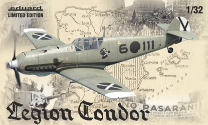 Eduard 1/32 Bf 109E Legion Condor Limited Edition