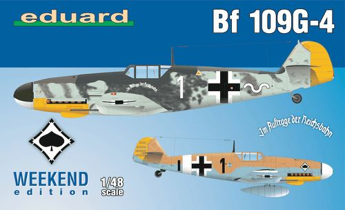 Eduard 1/48 Bf 109G-4 Weekend Edition