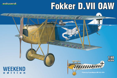 Eduard 1/48 Fokker D.VII OAW Weekend Edition