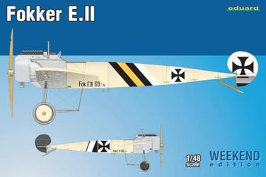 Eduard 1/48 Fokker E.II Weekend Edition