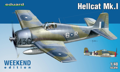 Eduard 1/48 Hellcat Mk.I Weekend Edition