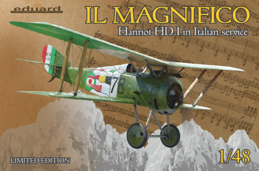Eduard 1/48 Il Magnifico Hanriot HD.I Limited Edition