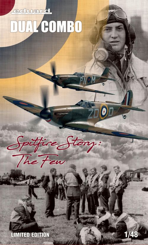 Eduard 1/48 Spitfire Mk.I 'Spitfire Story, The Few' Limited Edition Dual Combo