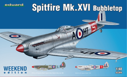 Eduard 1/48 Spitfire Mk.XVI Bubbletop Weekend Edition