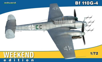 Eduard 1/72 Bf 110G-4 Weekend Edition