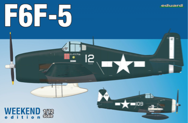 Eduard 1/72 F6F-5 Weekend Edition