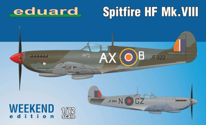 Eduard 1/72 Spitfire HF Mk.VIII Weekend Edition