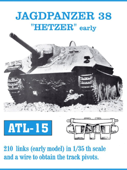 "Friul Model 1/35 Jagdpanzer 38 ""Hetzer"" Early Tracks"