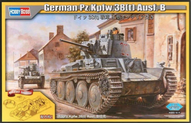 Hobby Boss 1/35 German Pz.Kpfw.38(t) Aust. B (full interior)