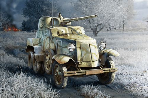 Hobby Boss 1/35 Soviet BA-10 Armoured Car