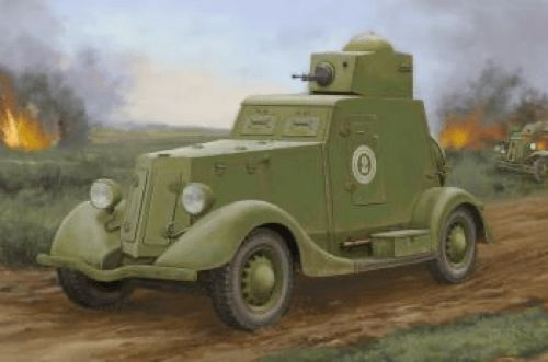 Hobby Boss 1/35 Soviet BA-20 Armoured Car Mod. 1939