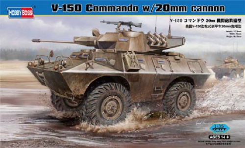 Hobby Boss 1/35 V-150 Commando w/20mm Cannon