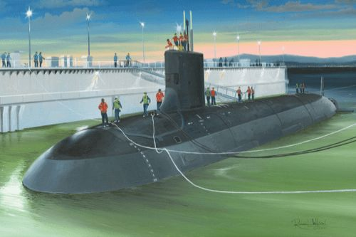 Hobby Boss 1/350 USS Virginia SSN-774