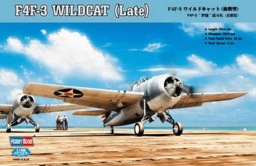 Hobby Boss 1/48 F4F-3 Wildcat (Late)