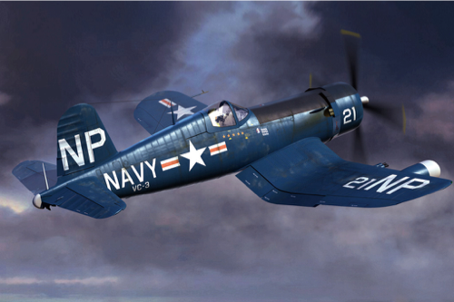Hobby Boss 1/48 F4U-5N Corsair early version