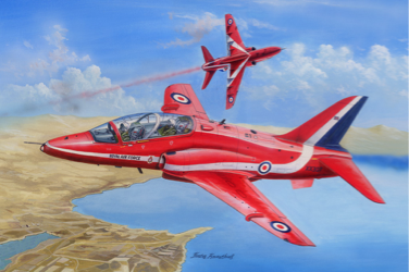 Hobby Boss 1/48 RAF Red Arrows Hawk T Mk.1/1A