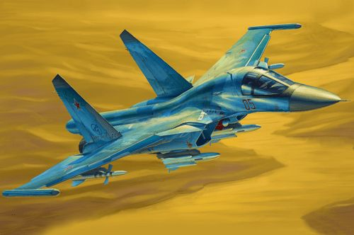 Hobby Boss 1/48 Russian Su-34 Fullback Fighter-Bomber