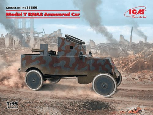 ICM 1/35 Model T RNAS Armoured Car