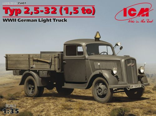 ICM 1/35 Typ 2,5-32 (1,5 to) WWII German Light Truck