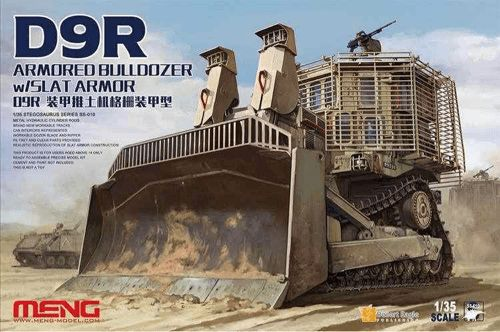 Meng 1/35 D9R Armoured Bulldozer w/Slat Armour