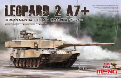 Meng 1/35 Leopard 2 A7+ German Main Battle Tank
