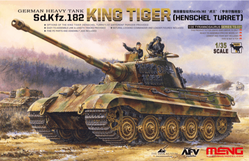 Meng 1/35 Sd.Kfz.182 King Tiger (Henschel Turret)