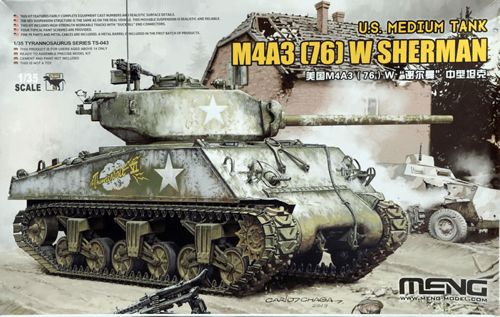 Meng 1/35 US Medium Tank M4A3 (76) W Sherman