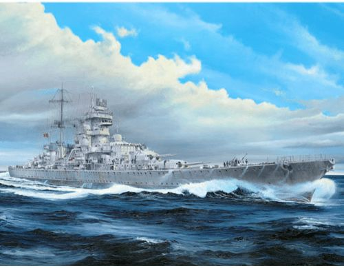 Trumpeter 1/350 Prinz Eugen, German Heavy Cruiser, 1945
