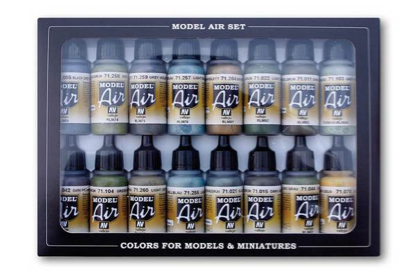 Vallejo Model Air RLM Paint Set