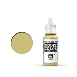 Vallejo Model Colour 70.806 German Yellow, Acrylic Paint