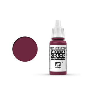 Vallejo Model Colour 70.812 Violet Red, Acrylic Paint