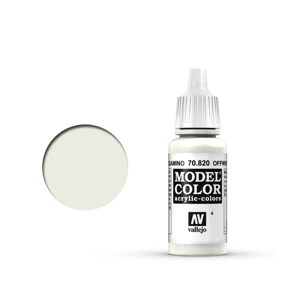 Vallejo Model Colour 70.820 Off White, Acrylic Paint