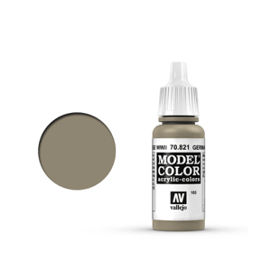 Vallejo Model Colour 70.821 German Camouflage Beige WWII, Acrylic Paint