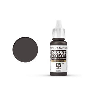 Vallejo Model Colour 70.822 German Camouflage Black Brown, Acrylic Paint