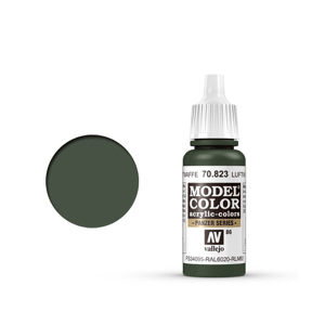 Vallejo Model Colour 70.823 Luftwaffe Camouflage Green, Acrylic Paint