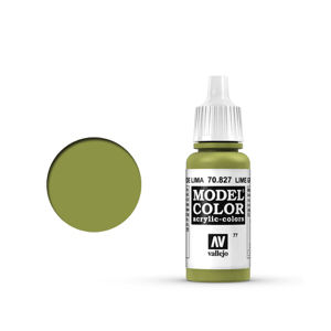 Vallejo Model Colour 70.827 Lime Green, Acrylic Paint