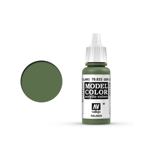 Vallejo Model Colour 70.833 German Camouflage Bright Green, Acrylic Paint