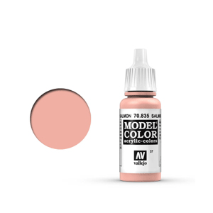 Vallejo Model Colour 70.835 Salmon Rose, Acrylic Paint