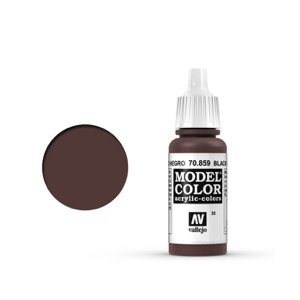 Vallejo Model Colour 70.859 Black Red, Acrylic Paint
