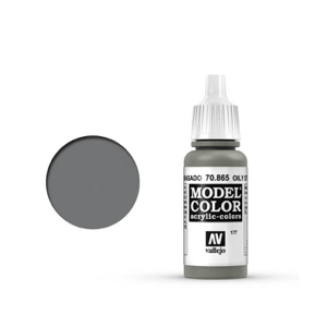 Vallejo Model Colour 70.865 Oily Steel, Acrylic Paint