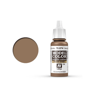 Vallejo Model Colour 70.874 Tan Earth, Acrylic Paint