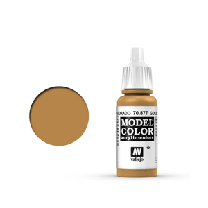 Vallejo Model Colour 70.877 Gold Brown, Acrylic Paint